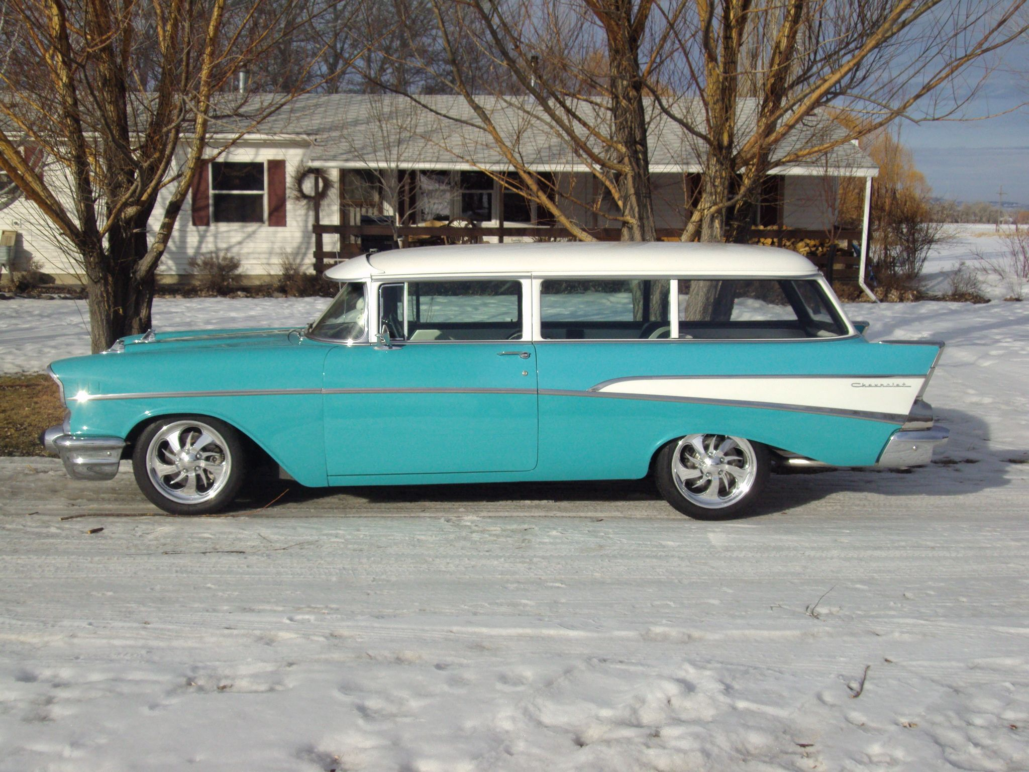 1957 Chevy Wagon Rr Frames Chevy Wagon Classic Trucks