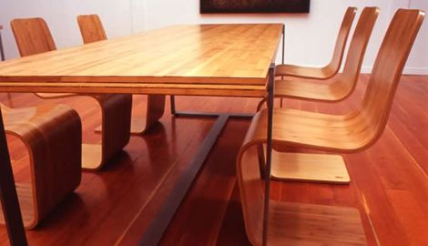 Sustainable Bamboo Chairs From Modern Bamboo Bamboo Chair Modern Dining Table