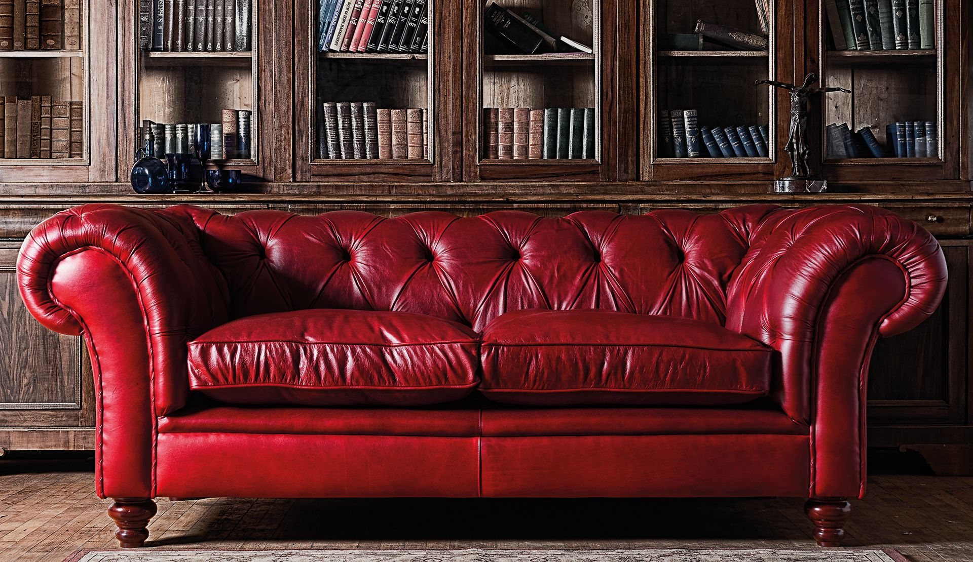 Chesterfield sofa modern braun  20 Reasons to Love Chesterfield Sofas | Chesterfield, Chesterfield ...