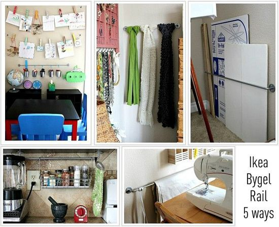 5 ways to use rails in your home IKEA
