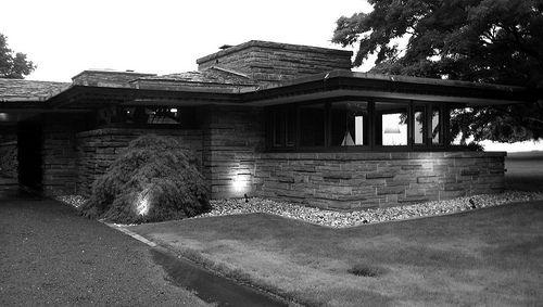 M Hoffman House Rye Architecture Design Frank Lloyd Wright Architecture