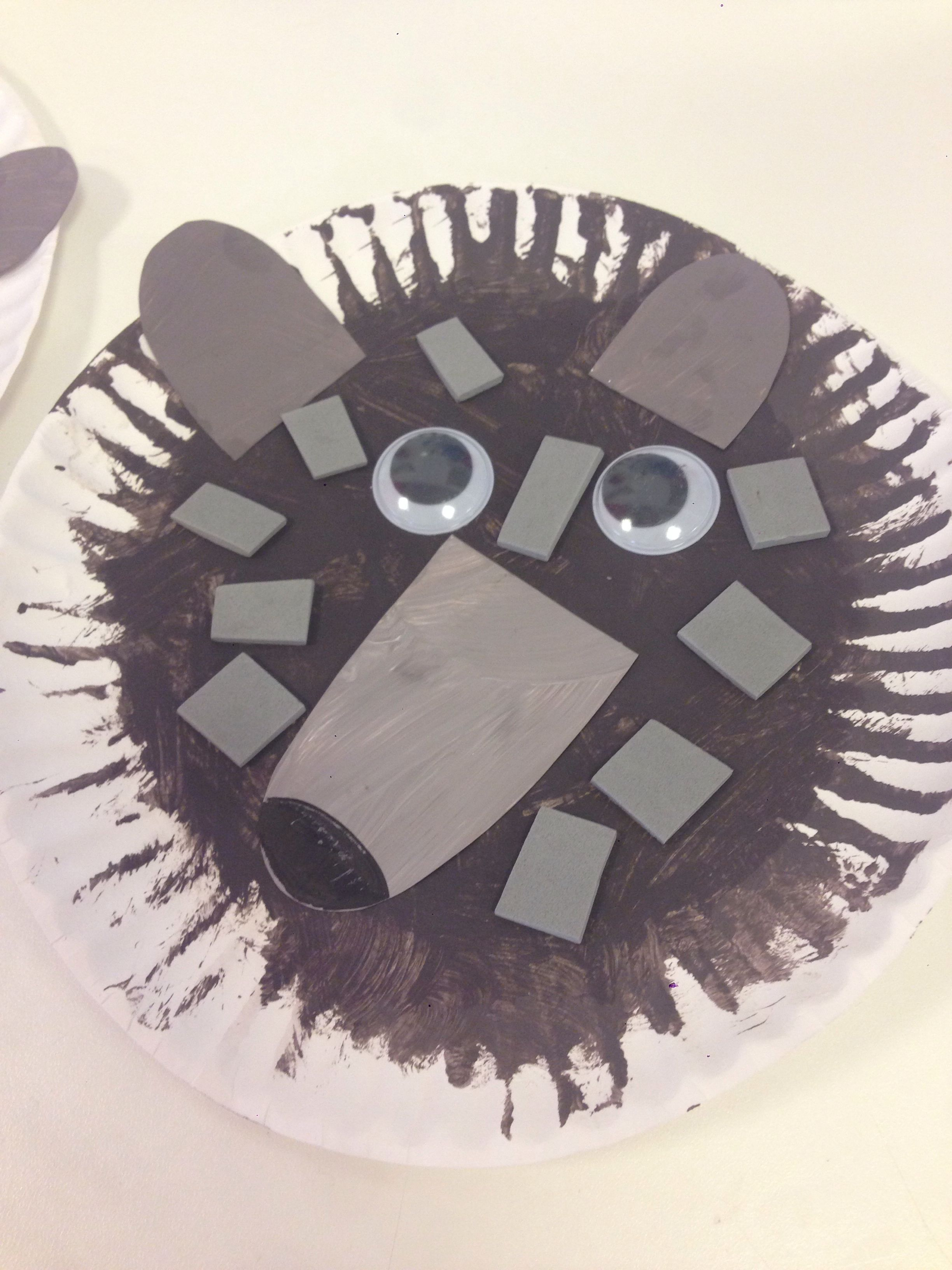 Wolf Craft For Preschoolers