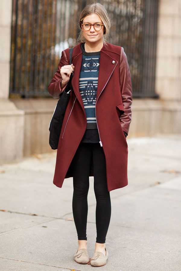 655813af1 Winter Outfit Inspiration From 15 Stylish NYC Students | Fashion ...