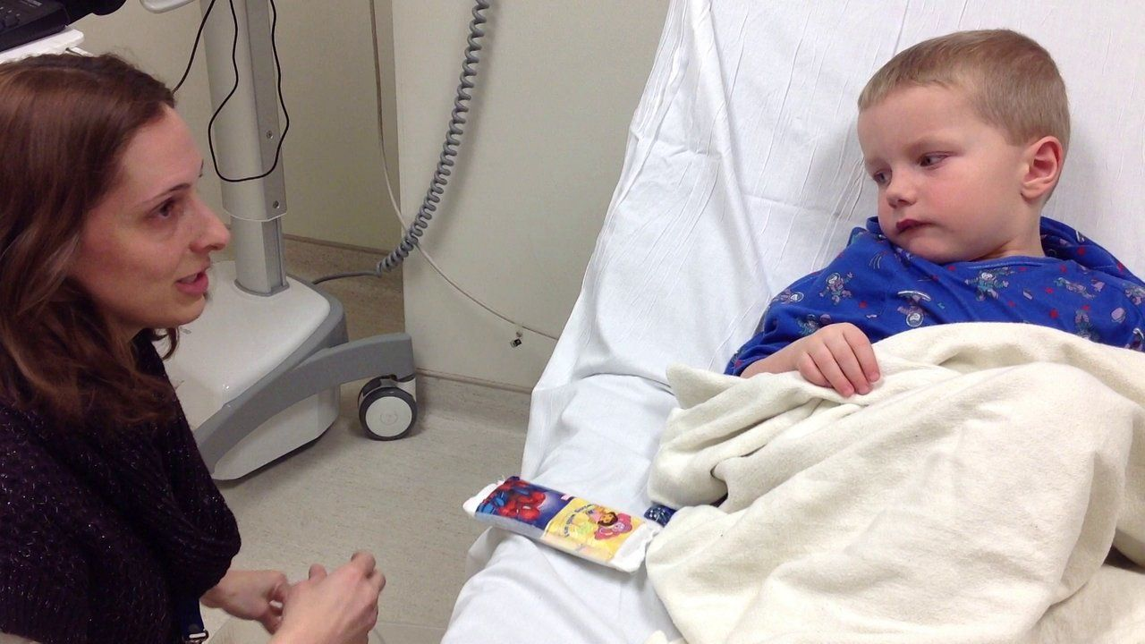 A night in the Emergency Department with a Child Life