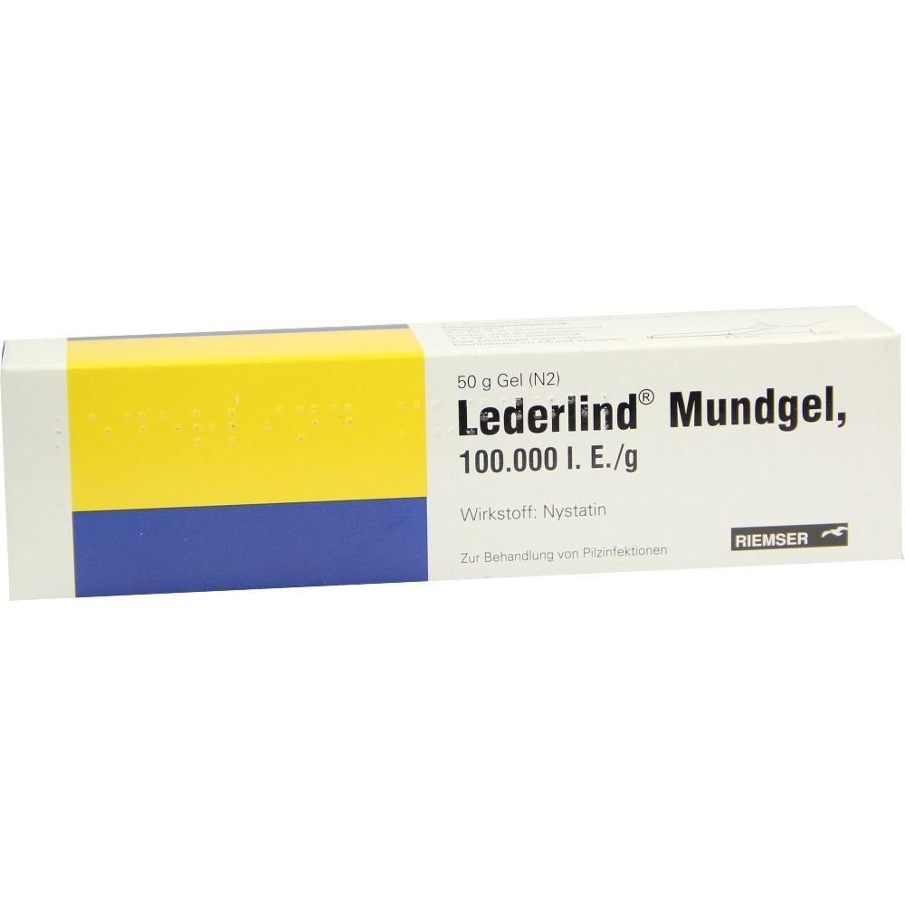 LEDERLIND Mundgel:   Packungsinhalt: 50 g Gel PZN: 04900663 Hersteller: Carinopharm GmbH Preis: 6,46 EUR inkl. 19 % MwSt. zzgl.…