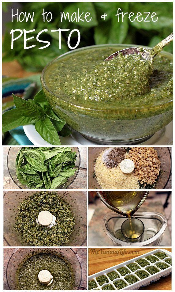 Make Pesto In Blender Or Food Processor