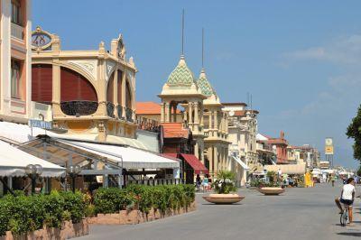 Viareggio Italy Trendy Coastal Village With Lots Of Pretty