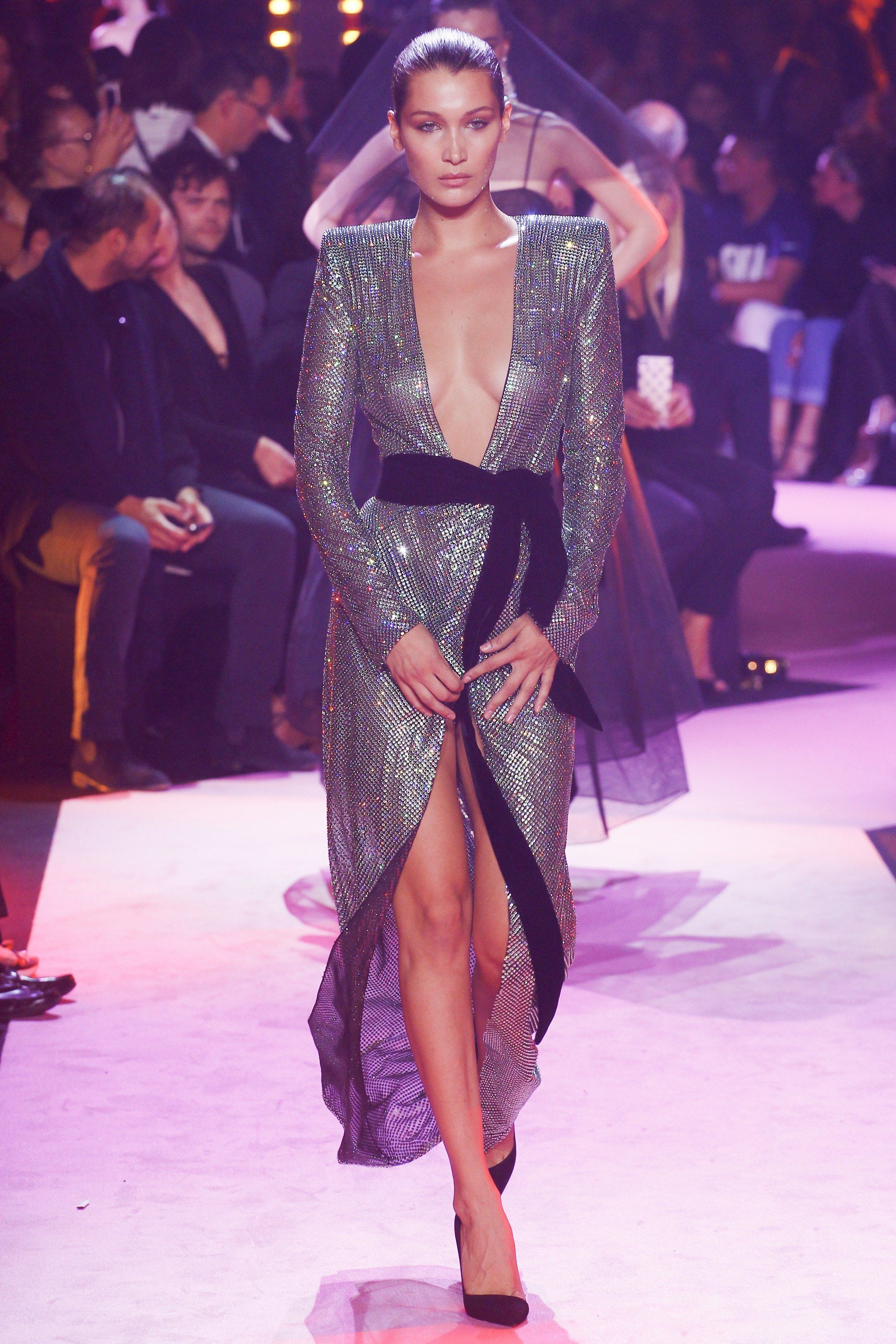 cb5de5b6b9211 See the complete Alexandre Vauthier Fall 2017 Couture collection.