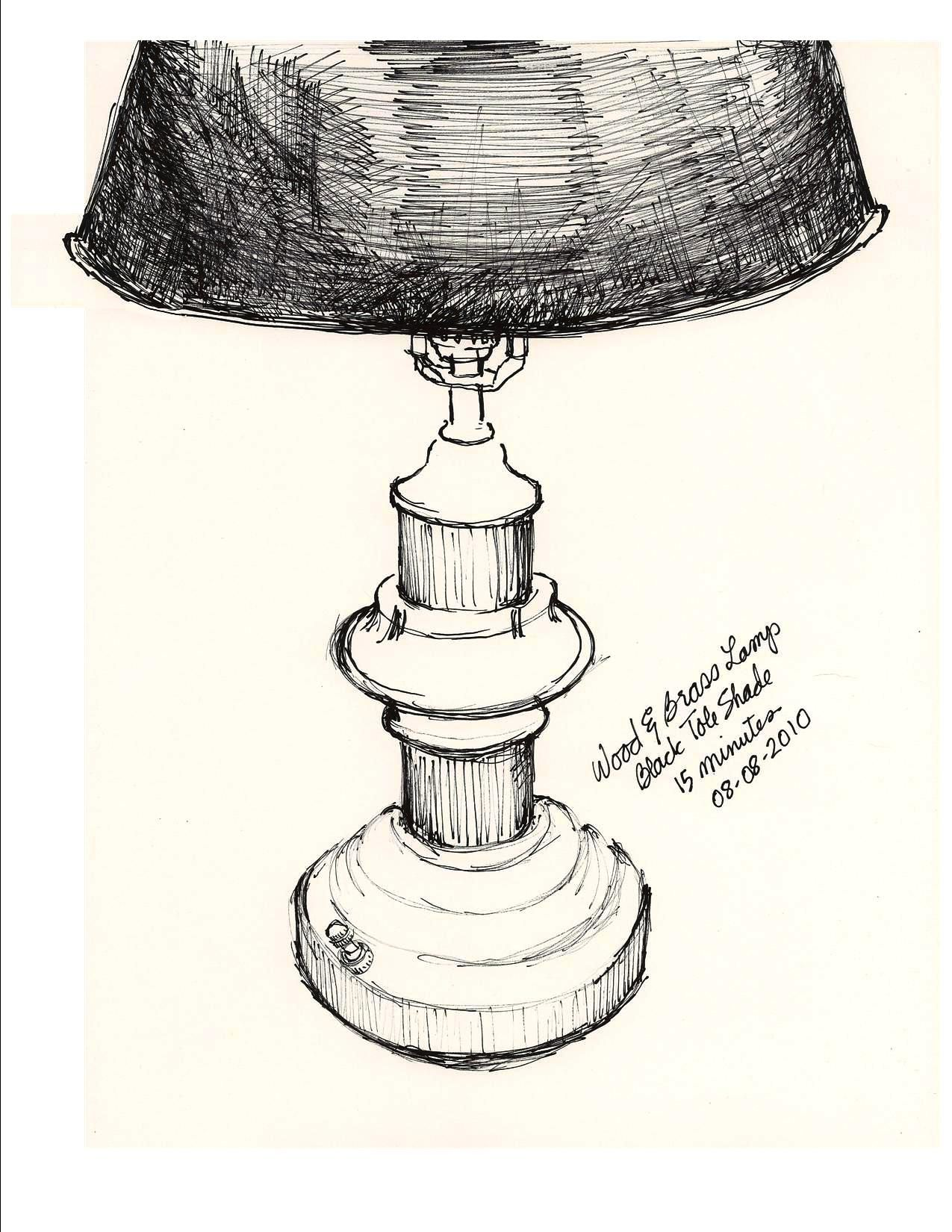 Drawings Of Table Lamps