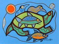 Earth Day Roy Thomas Canadian Aboriginal Art Art For Kids