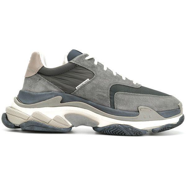b1e7ff7d8e82 Balenciaga Triple S Sneakers ( 850) ❤ liked on Polyvore featuring men s  fashion