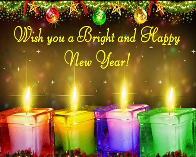 New Year Wishes Wallpaper Download
