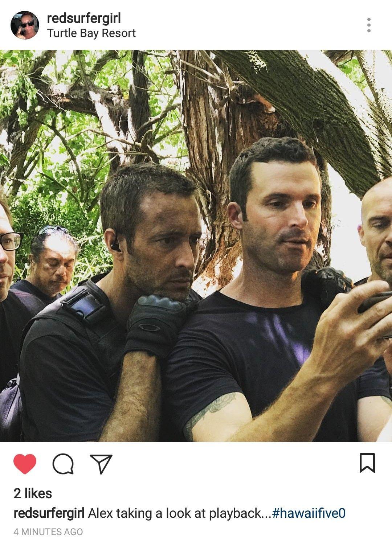 Alex OLoughlin Instagram