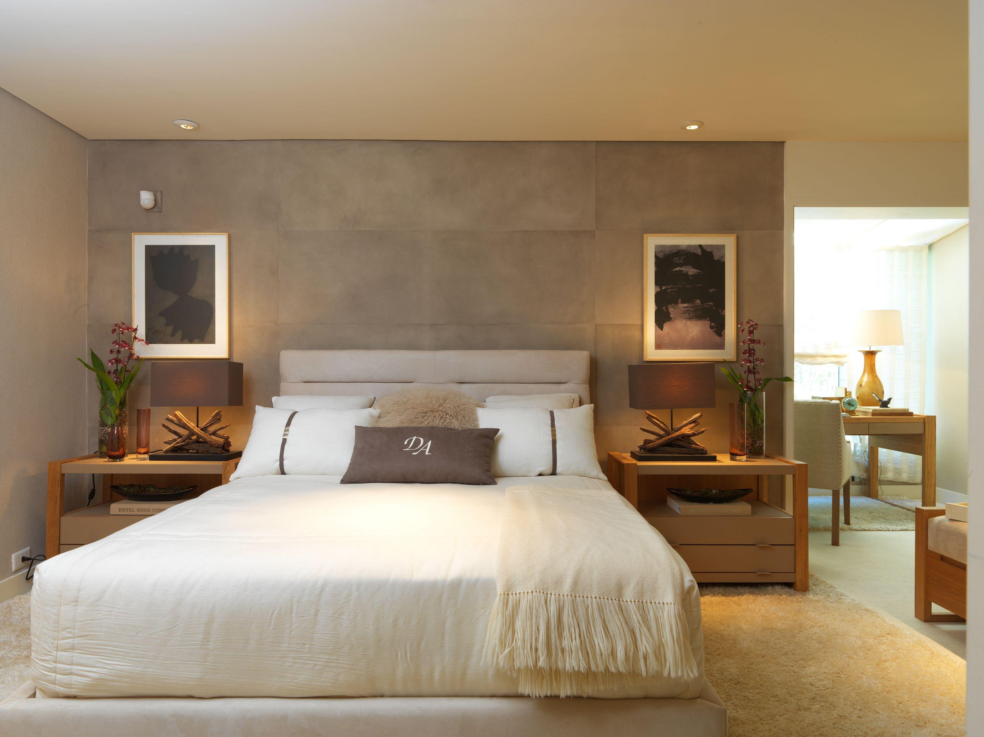 10 quartos em tons neutros por debora aguiar constance for Dormitorio para quarto pequeno