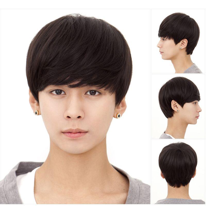 Korean Man Bob Lol Korean Men Hairstyle Asian Men Hairstyle Short Hair Wigs