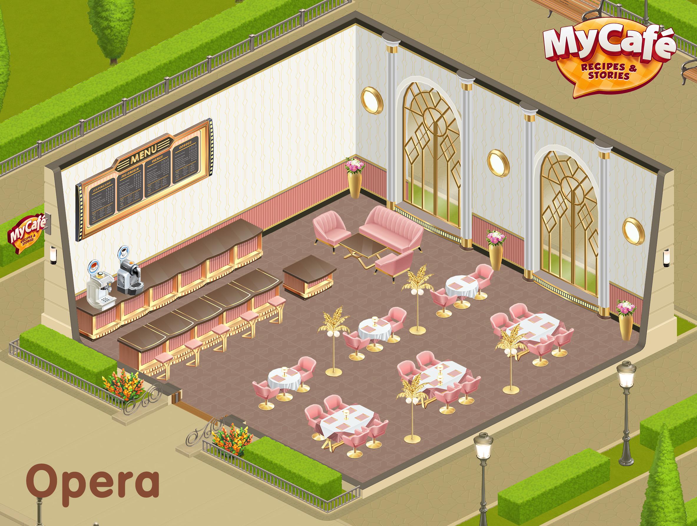 Opera French Style My Cafe Game Mycafe Mycafegame Estilos