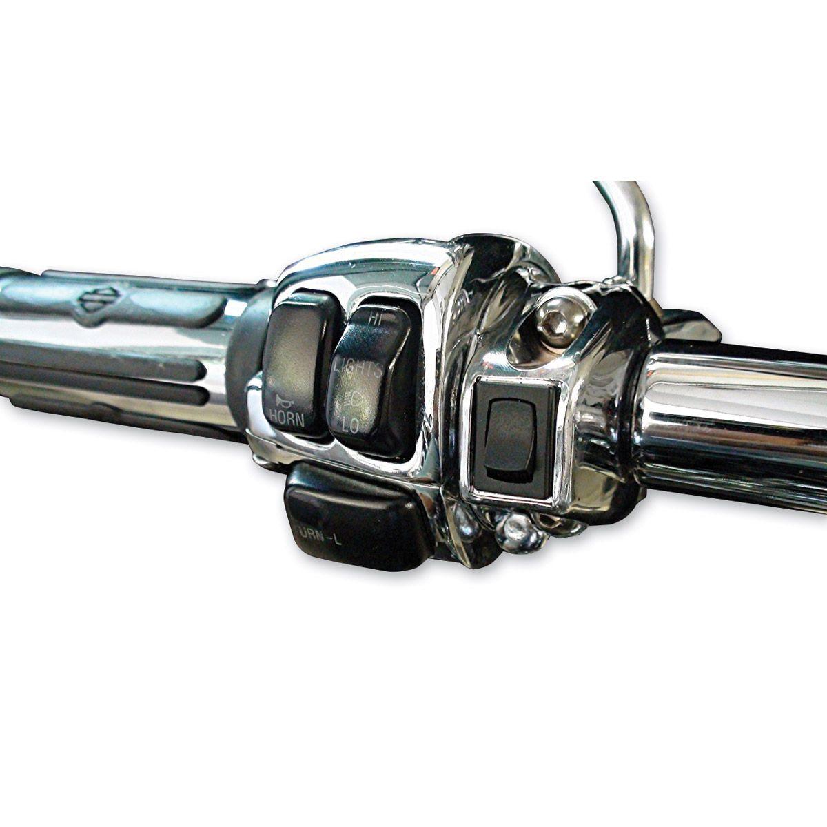 Grip Switch Garage Door Opener Kit Chrome Gp1c Classic Harley Davidson Harley Harley Davidson Motorcycles