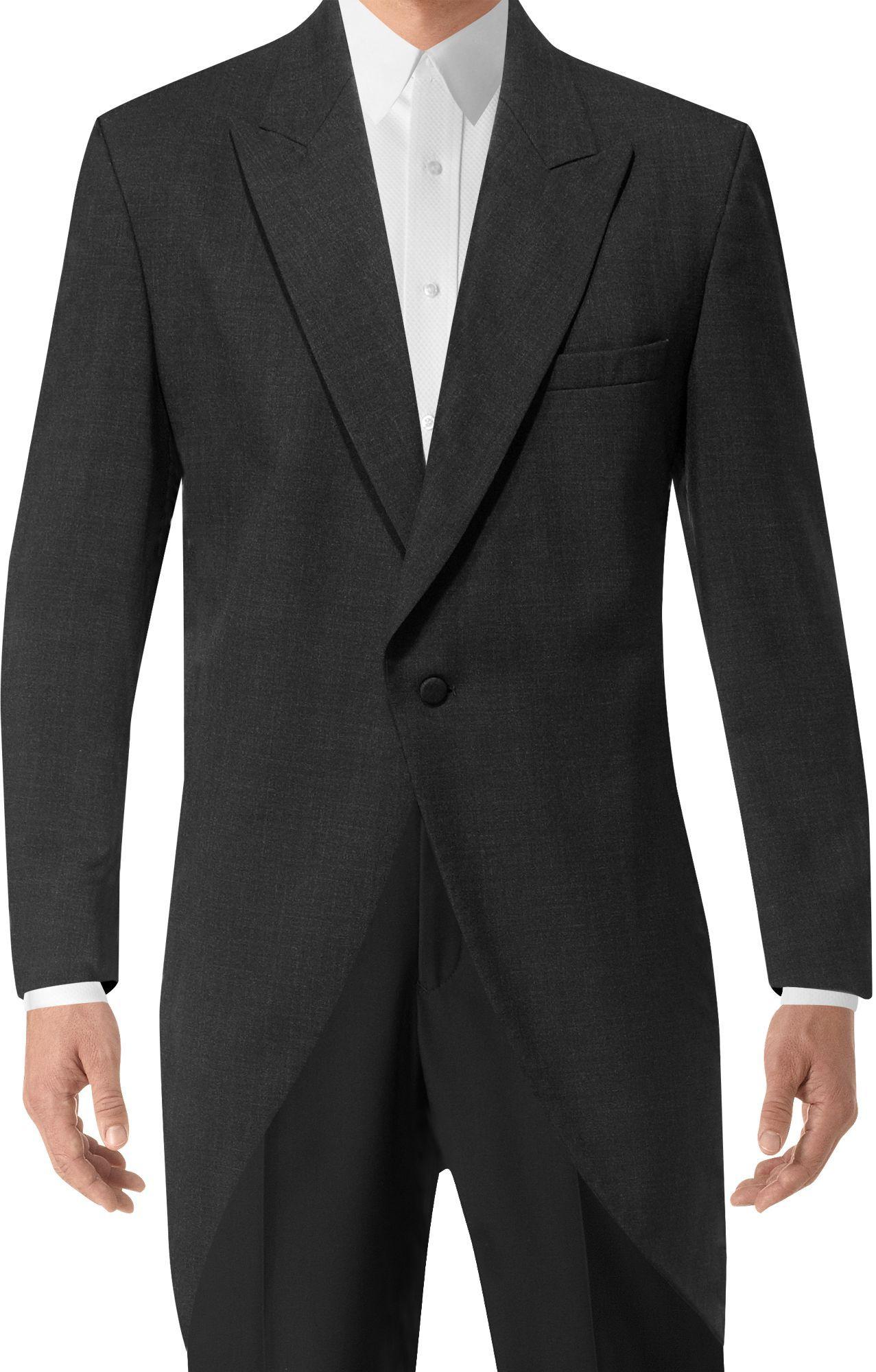 BLACK By Vera Wang Black Notch Lapel Tux Tuxedo suit