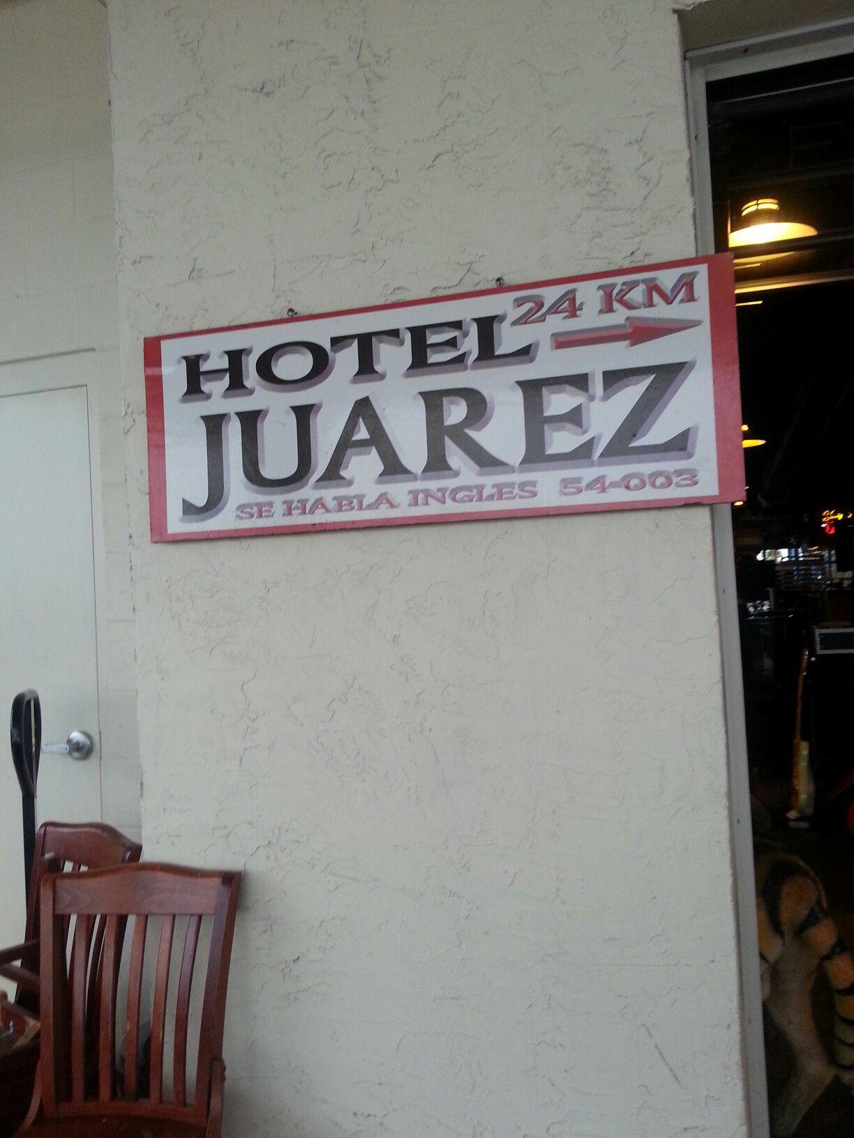 Av. Juárez in Playa del Carmen, Quintana Roo