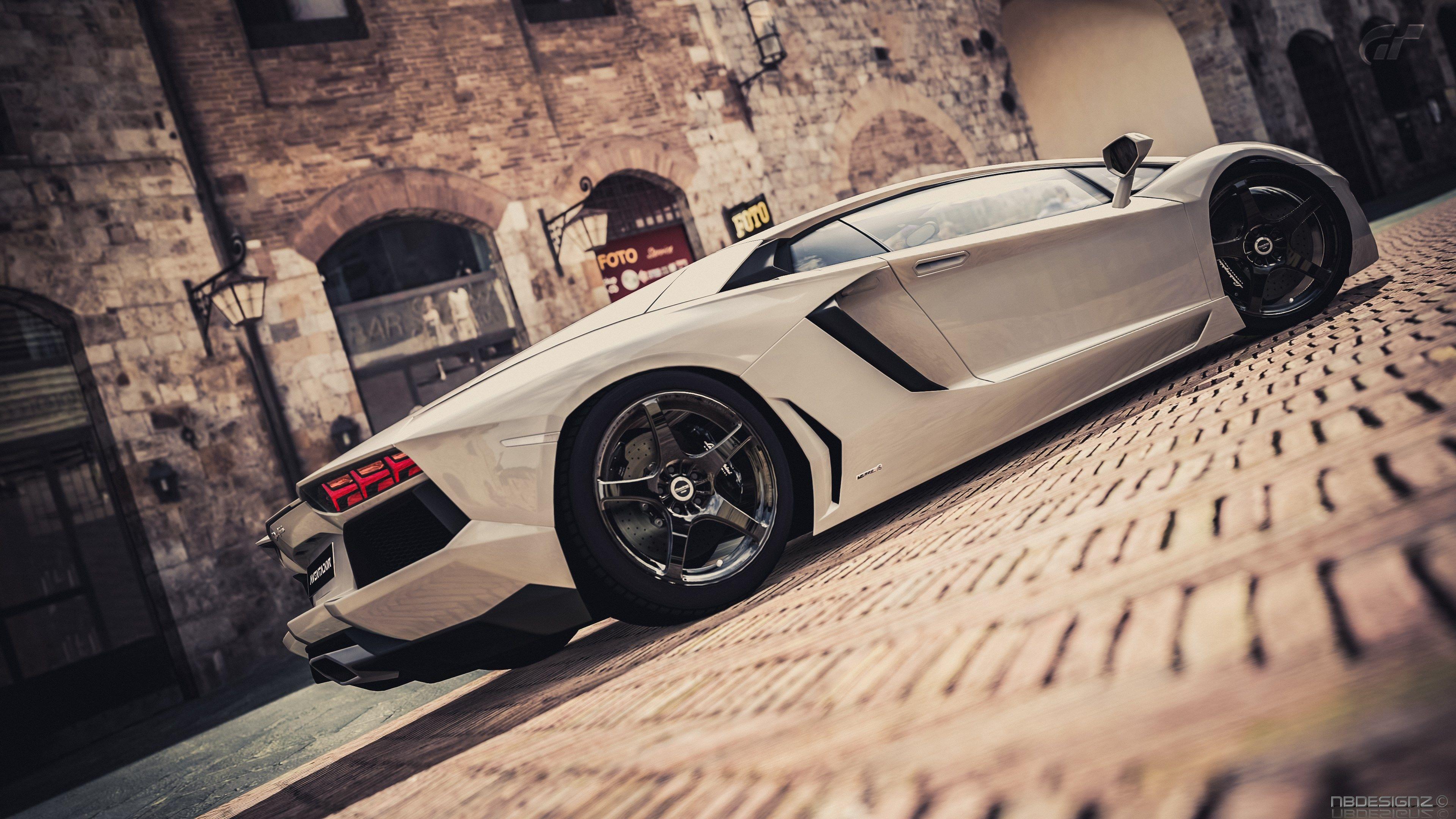 4k Wallpaper Lamborghini Aventador 3840x2160 ジャングル と