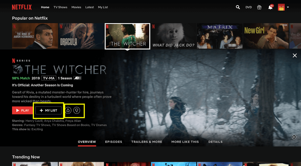 3 Ux Lessons To Learn From Netflix Webdesigner Depot In 2020 Tv Shows Online Netflix Watch Tv Shows