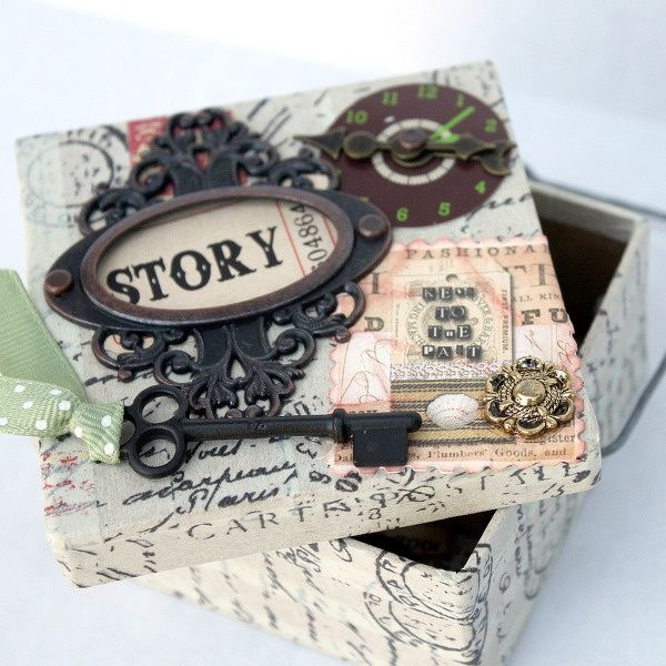 50 ideas decoupage boxes-017 · Paper Mache ... & 50 ideas decoupage boxes-017   lick   Pinterest   Decoupage Box and ...