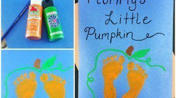 Mommy's Little Pumpkin – Baby's 1st Halloween Keepsake Idea