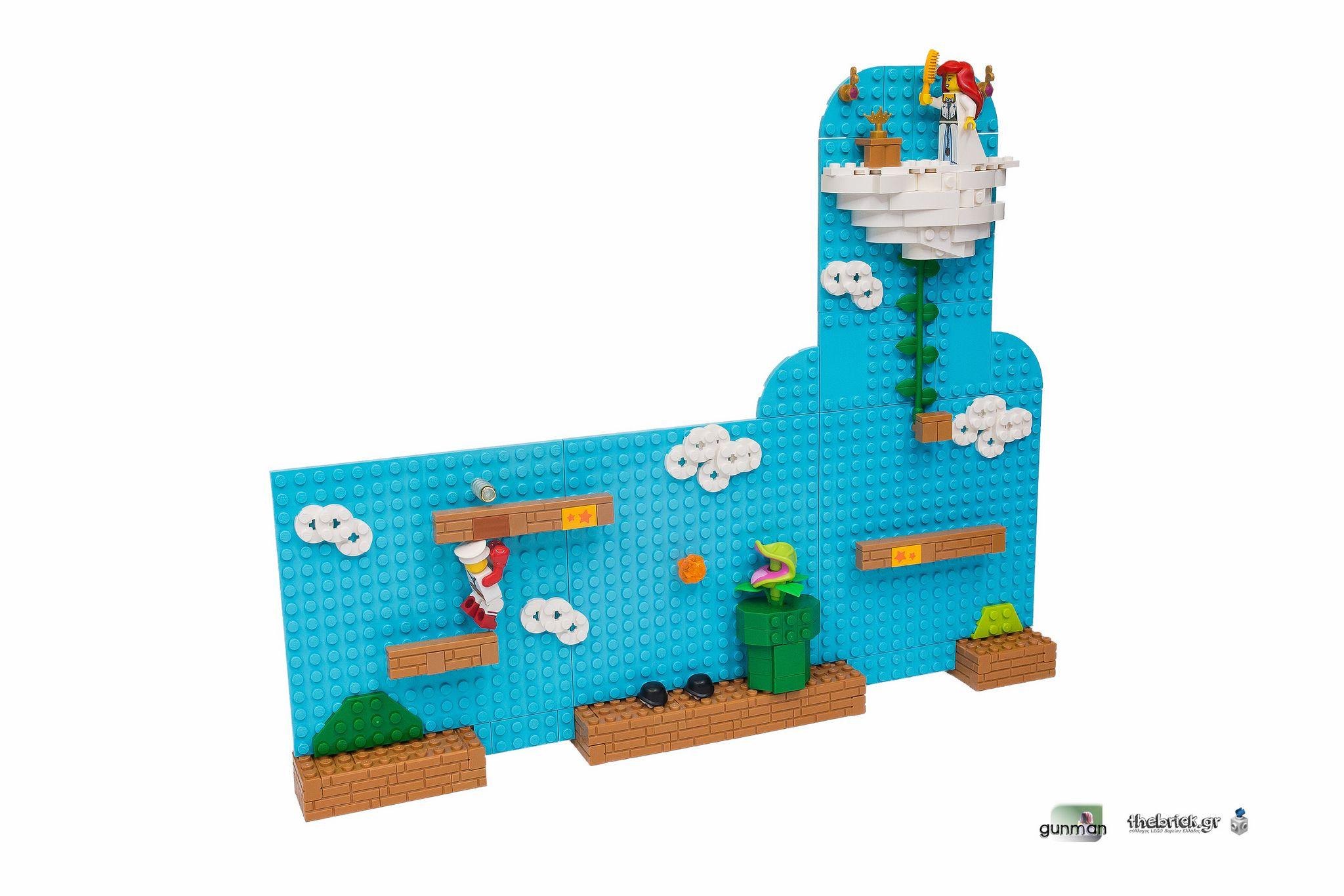 Waiting For A Hero Super Mario Bros Mario Bros Legos