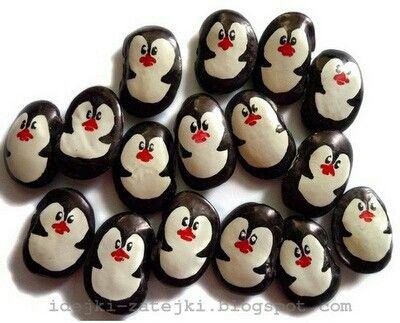 Penguenler Penguin Diy Elisi Fikirleri Kids Crafts Ve