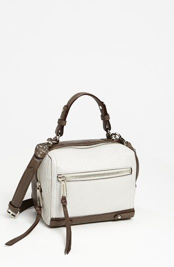Rebecca Minkoff 'Caleb - Bubble' Leather Crossbody Bag available at #Nordstrom