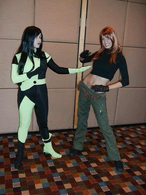 063 Kim Possible, Shego | Costumes, Costume contest and Halloween ...