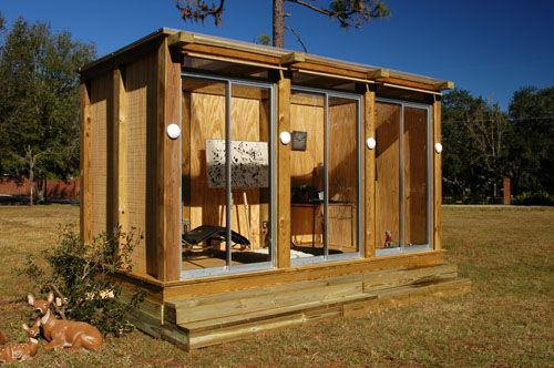metroshed metroprefab by david ballinger for you sarah outdoor art studio design - Art Studio Design Ideas