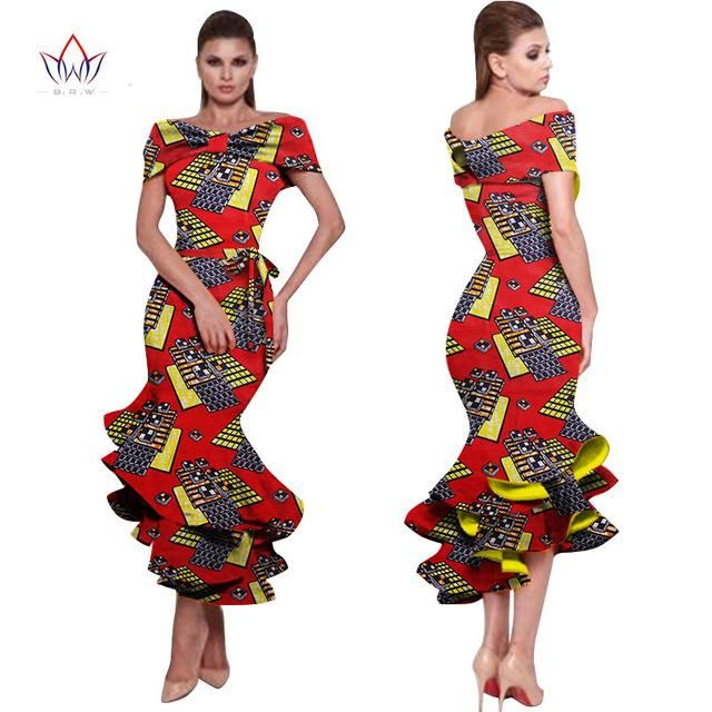 Ankara dress ,Ankara Gown, Dashiki Dress, African bazin Dress, African Styles,African fashion,African Fabric,African Clothing,African Clothing-OW656 - Owame #africanstyleclothing
