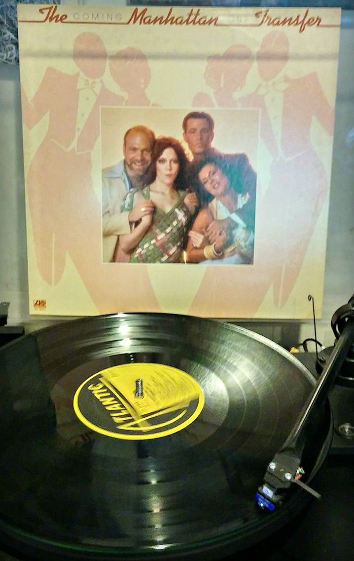 c1976  Coming Out by Manhattan Transfer.  #vinyl