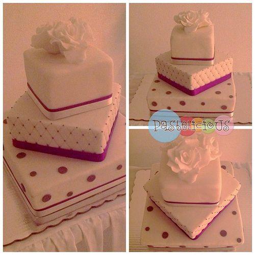 #pastelicious #weddingcake