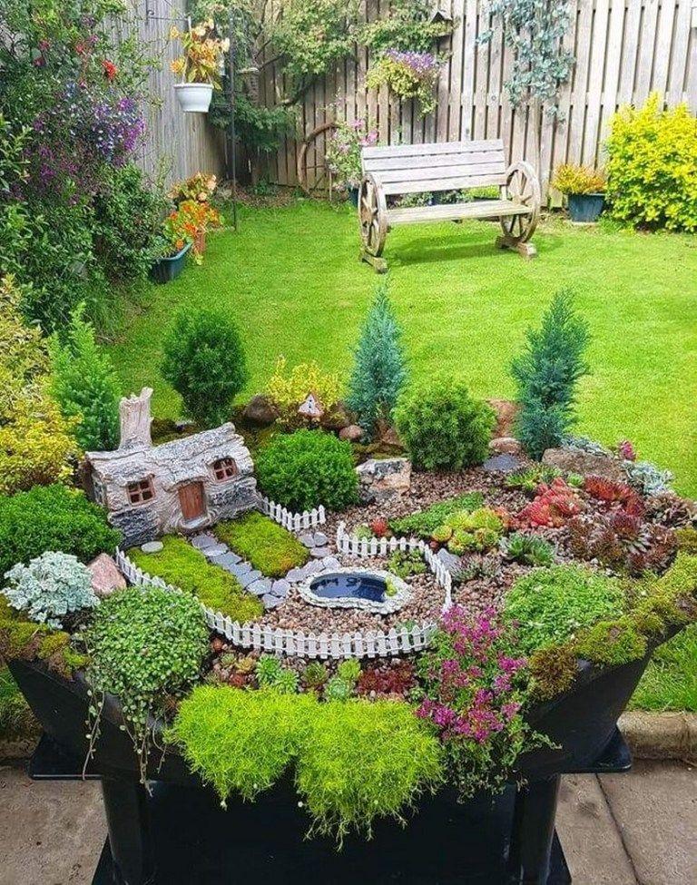 31 Easy Diy Miniature Fairy Gardens Fairygarden Fairygardenideas Miniaturefairygarden Newport Interna Fairy Garden Indoor Fairy Gardens Large Fairy Garden