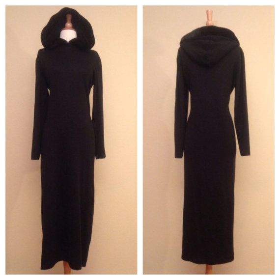 Sweater Dresses with Hoods