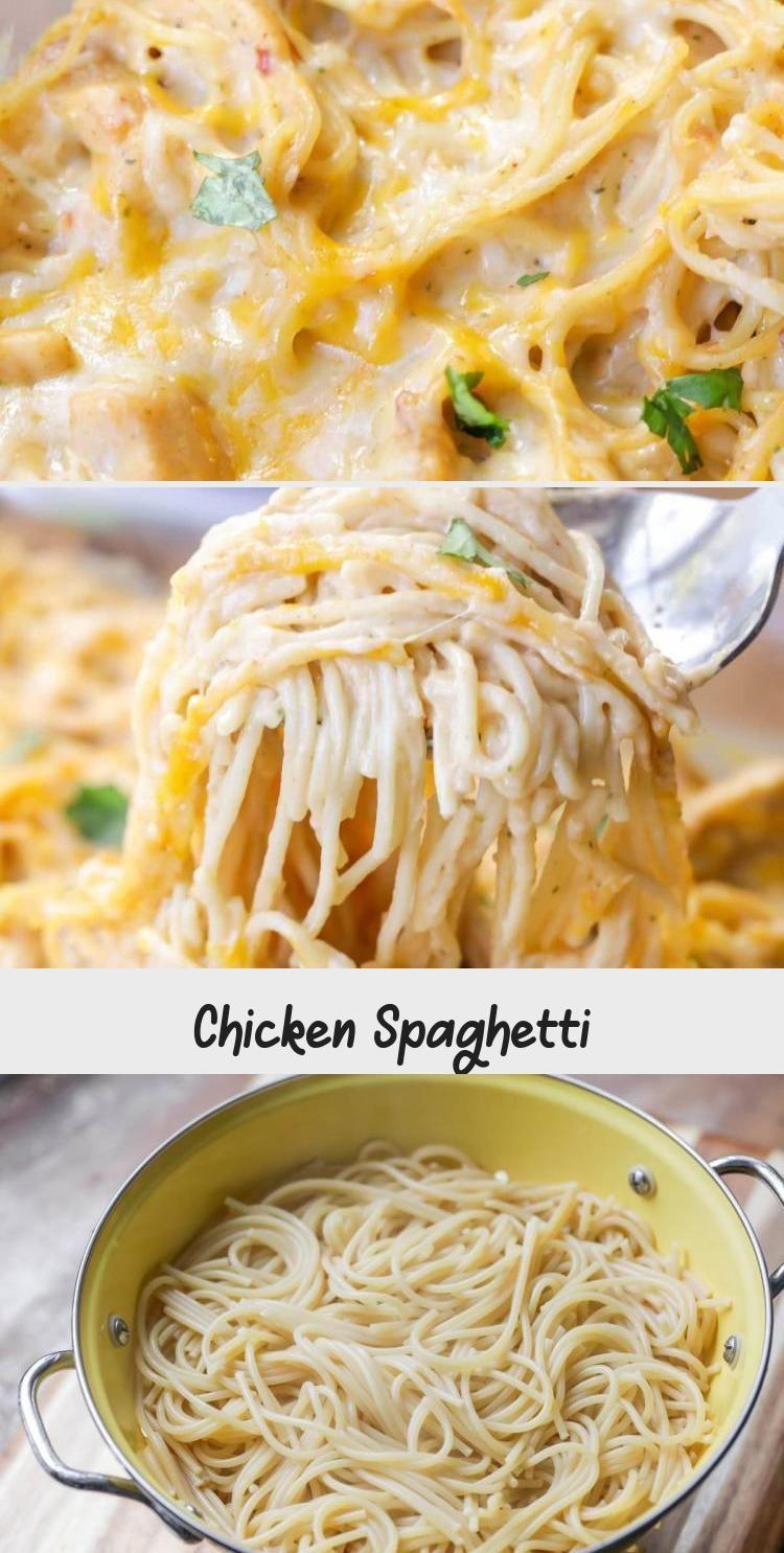 Chicken Spaghetti In 2020 Chicken Spaghetti Recipes Spaghetti Recipes Chicken Spaghetti