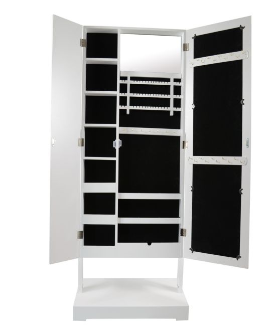 ikea standing jewelry armoire mirrors with drawer 58 60. Black Bedroom Furniture Sets. Home Design Ideas
