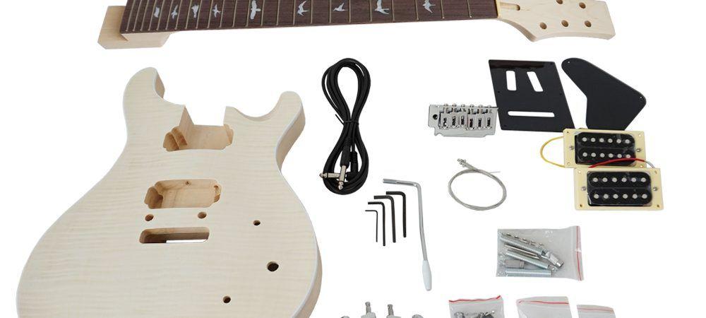 Diy Prs Style Electric Guitar Kit Aiersimusic China No 1 Online Music Store Electric Guitar Kits Electric Guitar Guitar Kits