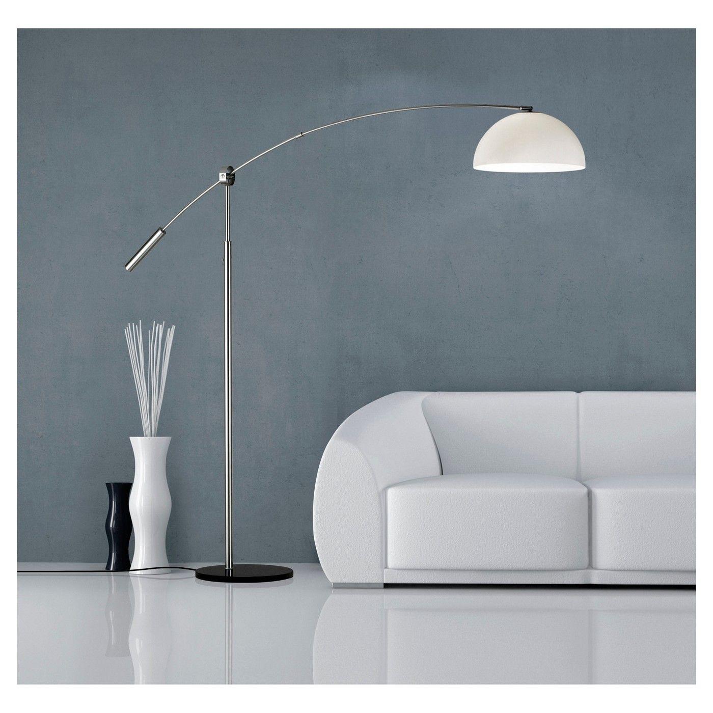 adesso wishbone floor lamp