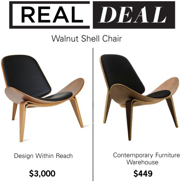 real deal walnut shell chair by polyvore editorial on polyvore