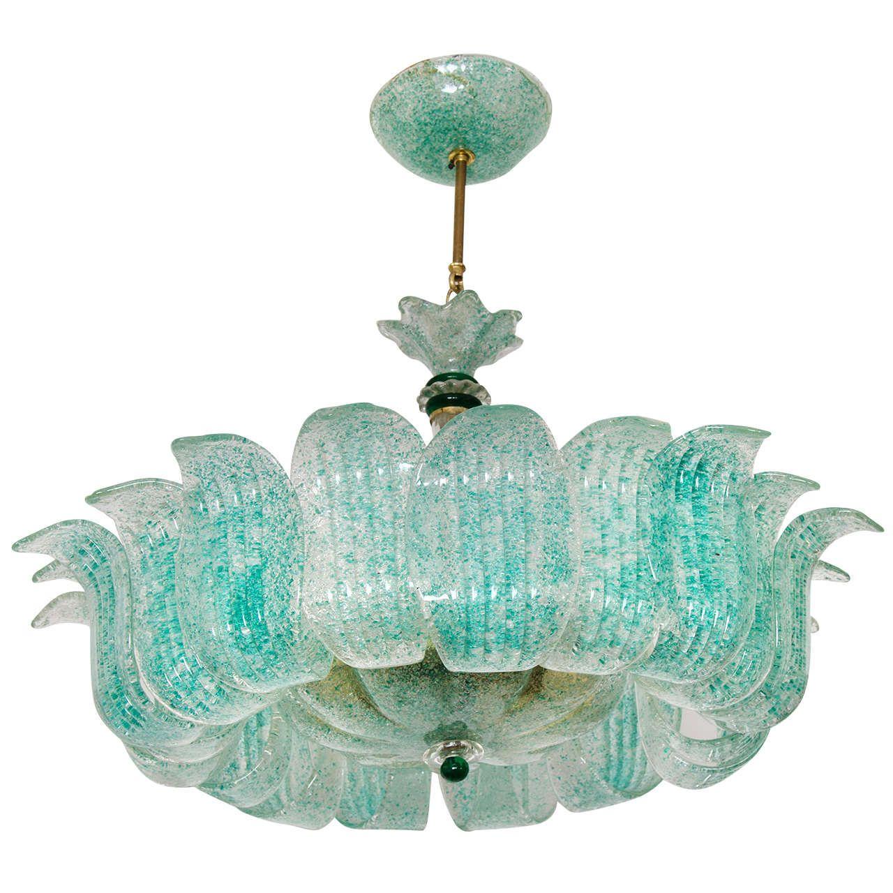 1940s italian murano chandelier murano venetian glass lighting 1940s italian murano chandelier mozeypictures Gallery