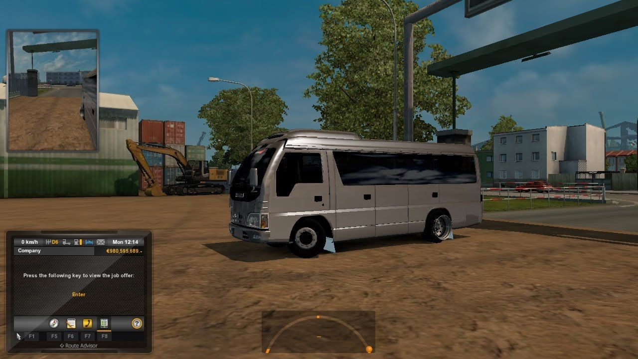ETS 2 Micro Bus ELF Mod Test | Multi Clip Media | Elf, Vehicles