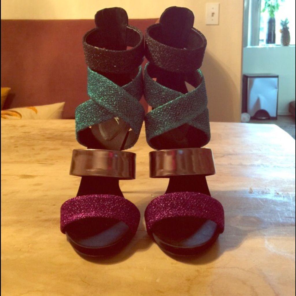 Multicolored Giuseppe Zannoti Heels