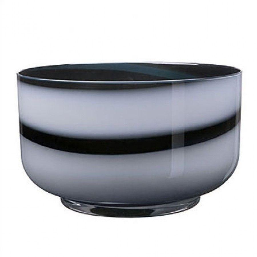 Black And White Decorative Bowls Kosta Boda Twist Black & White Bowl  7050640  Kosta Boda