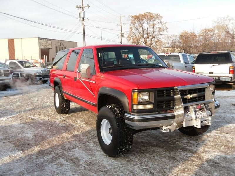 Cool 99 Suburban Ifs For Sale In Edmonton Ck5 Forums Chevrolet