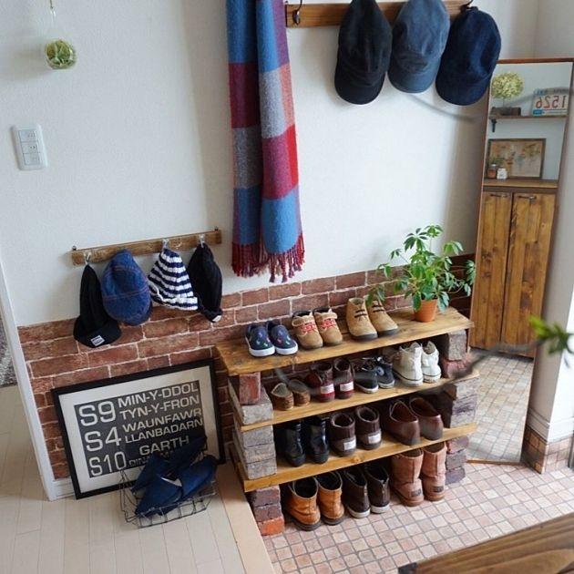 玄関は家の顔だから♪玄関を快適にオシャレにする靴収納