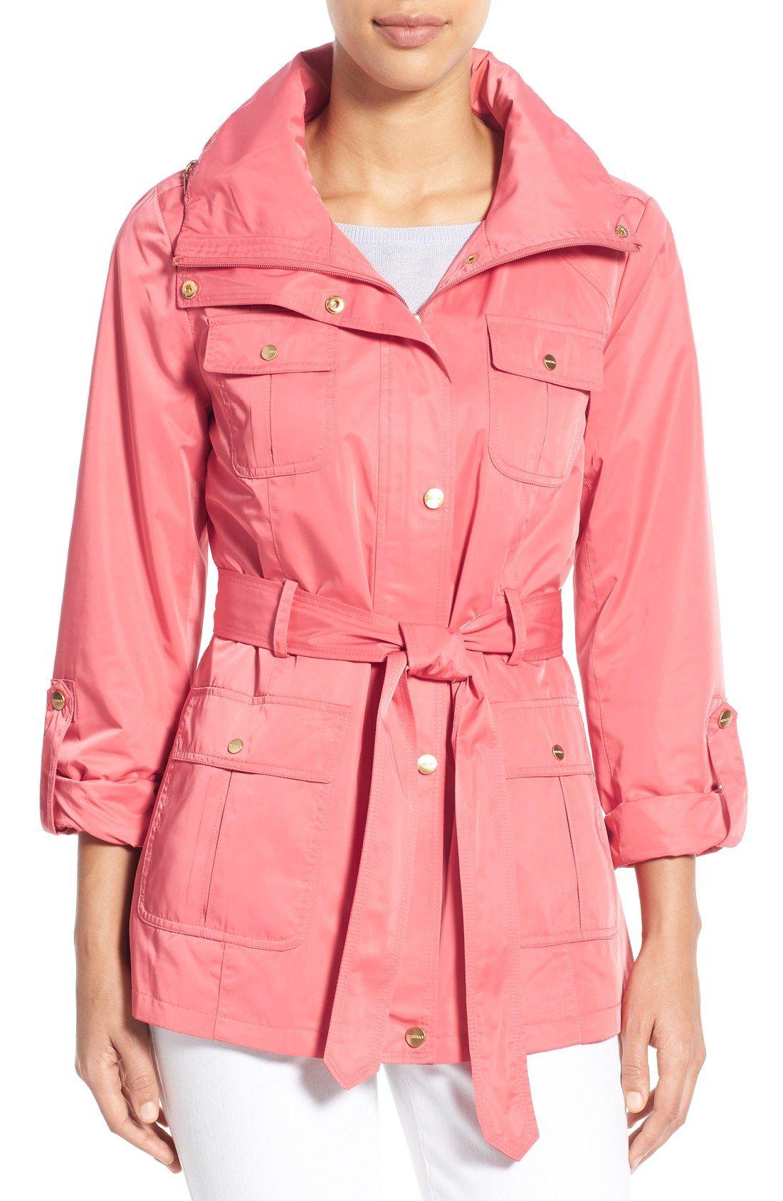 Techno Short Trench Coat | Short trench coat, Ellen tracy and Techno