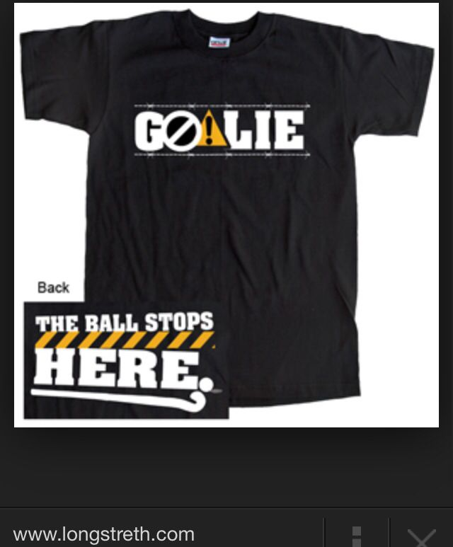 Field Hockey Goalie Shirt Field Hockey Field Hockey Goalie